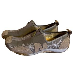 Merrell Taupe Hiking Shoes - Women's Size 6.5